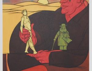Valerio Adami. Statuettes