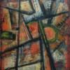 Serge Benoit. Peinture à l'huile sur toile