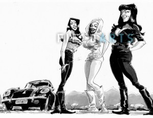 Illustration de Faster Pussycat
