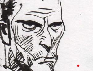 Jordi Bernet – Illustration Tête d'homme