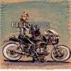 Illustration de Pin-up sur moto