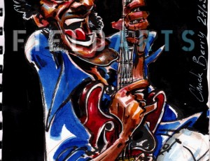 Illustration de Chuck Berry