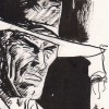 Jordi Bernet – Illustration Clint Eastwood
