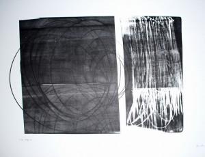 Hans Hartung Lithographie de 1973