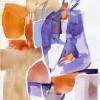 Sylvia Baldeva. Aquarelle sur Papier
