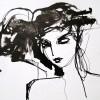 Sylvia Baldeva. Encre sur Papier