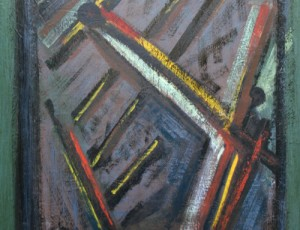Serge Benoit. Peinture Mixte sur Toile