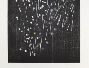Lithographie de Hans Hartung H-13-1973