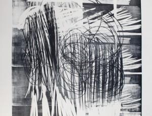 Lithographie de Hans Hartung L-16B-1974