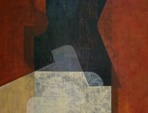 Serge Benoit. Peinture Mixte sur Panneau