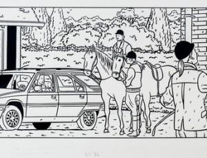 Jean-Claude Floc'h. Illustration Citroën