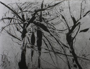 Nadège Druzkowski. Etching On Paper