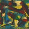 Serge Benoit. Peinture mixte sur papier