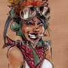 Illustration Tank Girl
