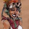 Illustration Tank Girl