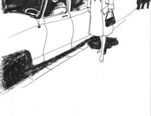 Grégory Mardon. Illustration à l'encre