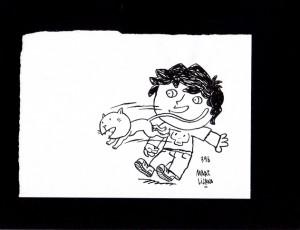 Marc Lizano. Illustration à l'Encre