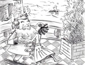 Marc Lizano. Illustration Pirates