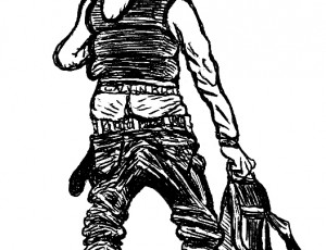Christophe Gaultier. Blue Jean