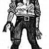Christophe Gaultier. Cowboy