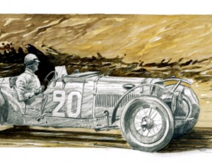 Jean-Marie GUIVARC'H. Aston Martin 1932