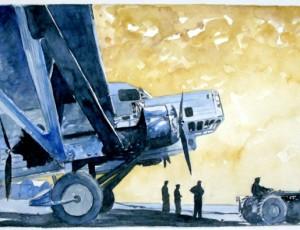 Jean-Marie GUIVARC'H. Avion