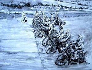 Jean-Marie GUIVARC'H. Ladies Moto
