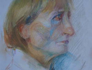 Lusine Ghukasyan. Portrait Pastel
