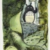 Thierry Martin. Hommage Miyazaki (Totoro)