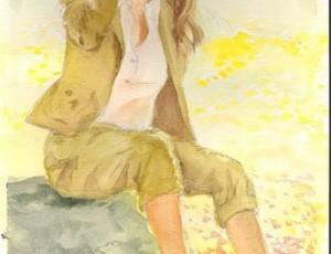 Reiko Takaku. Fille au Soleil