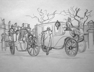 Cyril Bonin. Fog (Les calèches)