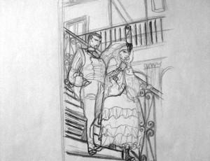 Cyril Bonin. Fog (Escaliers)