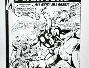 Frank McLaughlin – Couv. Avengers n°93