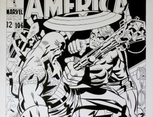 Frank McLaughlin – Couv. Captain America n°106