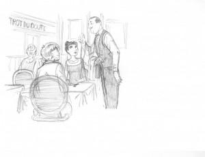 Cyril Bonin. La Délicatesse illustration 10