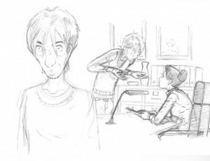 Cyril Bonin. La Délicatesse illustration 14