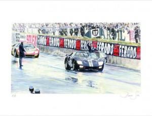 Denis Sire. Le Mans 1966