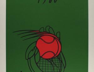 Valerio Adami. Roland Garros