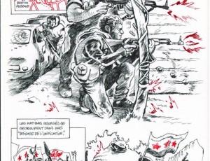 Cyrille Pomès. Le printemps des arabes p91