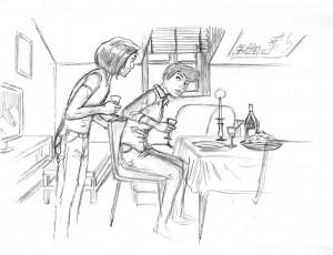 Cyril Bonin. Amorostasia 3. Illustration 7