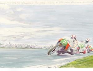 Denis Sire. ASSEN 250 GP 1975
