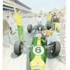 Denis Sire. Jim Clark Ford Lotus