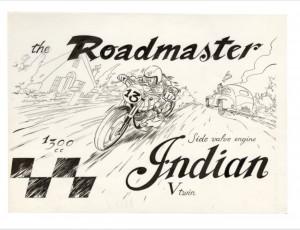 Denis Sire. Roadmaster Indian