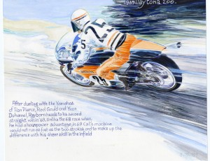 Denis Sire – Daytona 200 Cal Rayborn 1969