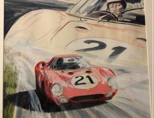 Denis Sire Le Mans 1965 Ferrari