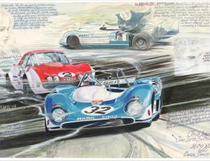 Denis Sire Le Mans 1971 72