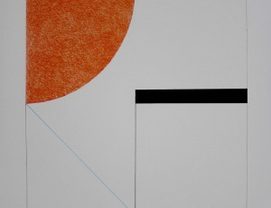 Gottfried Honegger. Composition Orange