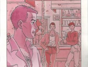 Arno. Scène de Bar