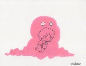 Mickael Roux. Blob Rose