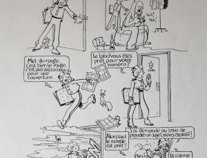 Thierry Martin. La Semaine Spirou 2